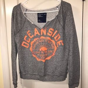 American Eagle pullover sweater.